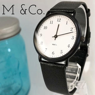 86 M &Co. エムアンドコー時計 メンズ腕時計 レディース腕時計 新品電池(腕時計)