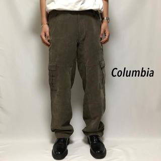 コロンビア(Columbia)のコロンビア Columbia カーゴパンツ ワークパンツ 登山 アーミーパンツ(ワークパンツ/カーゴパンツ)