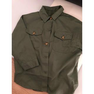 マウジー(moussy)のミリタリーシャツ&ジャケット ライトカーキ(ミリタリージャケット)