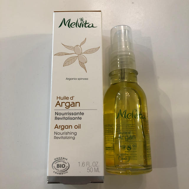 Melvita(メルヴィータ)のタピシャン様専用 新品 メルヴィータ アルガンオイル コスメ/美容のボディケア(ボディオイル)の商品写真