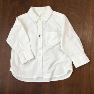 ムジルシリョウヒン(MUJI (無印良品))の無印良品 90cm ボタンダウン シャツ(ブラウス)