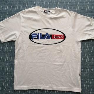 フィラ(FILA)のFILA 白 Tシャツ(Tシャツ(半袖/袖なし))