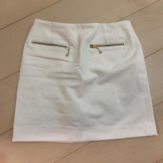 レディアゼル(REDYAZEL)のタイトスカート ミニスカート ホワイト(ミニスカート)