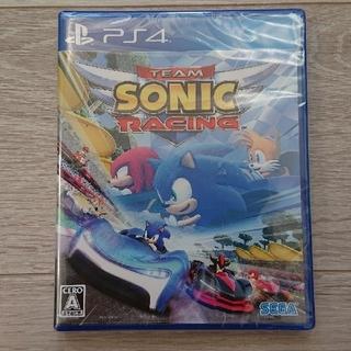 プレイステーション4(PlayStation4)の新品、未開封♡PS4 チームソニックレーシング (家庭用ゲームソフト)