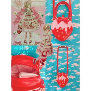 アンジェリックプリティー(Angelic Pretty)の■Strawberry Whipバッグ■苺いちごイチゴスイーツロリータロリィタ■(ショルダーバッグ)