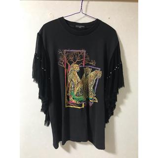 ローズバッド(ROSE BUD)のDry Clean Only パンサー Tシャツ(Tシャツ(半袖/袖なし))