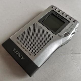 SONY - ★動作品です SONYソニーFM/AMラジオ SRF-R400