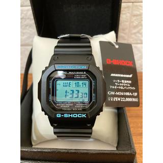 ジーショック(G-SHOCK)のカシオ Gショック G-SHOCK ソーラー電波 GW-M5610BA ブルー(腕時計(デジタル))
