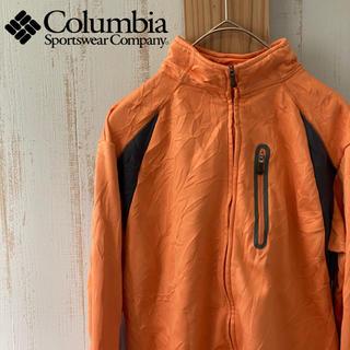 コロンビア(Columbia)の古着 Columbia コロンビア レディース フリースジャケット オレンジ(その他)