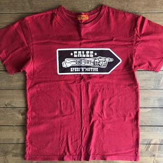 キャリー(CALEE)のCALEE Tシャツ メンズ Mサイズ(Tシャツ/カットソー(半袖/袖なし))