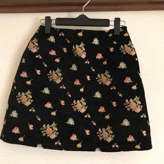 ダズリン(dazzlin)のdazzlin ダズリン 花柄スカート(ひざ丈スカート)