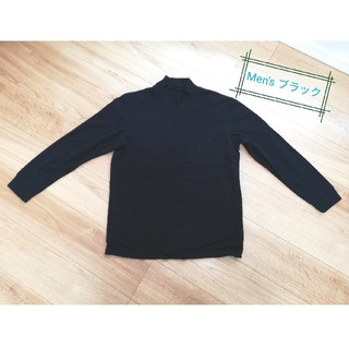 ユニクロ(UNIQLO)のUNIQLO Men's フリース ハイネックTシャツ(Tシャツ/カットソー(半袖/袖なし))
