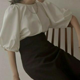 エディットフォールル(EDIT.FOR LULU)のLouren puff sleeve over blouse(シャツ/ブラウス(半袖/袖なし))