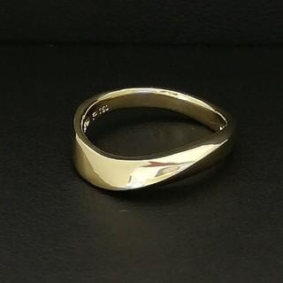 ポーラ(POLA)のK18YG ♥️POLA♥️金のシンプルリング✨新品仕上げしています✨(リング(指輪))