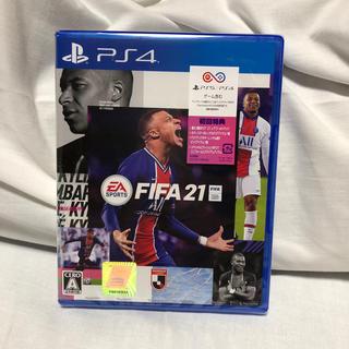 プレイステーション4(PlayStation4)のFIFA 21 PS4⭐︎新品、未開封(家庭用ゲームソフト)