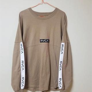 ルーカ(RVCA)のRVCA ルーカ ロンT テープロゴ(Tシャツ/カットソー(七分/長袖))