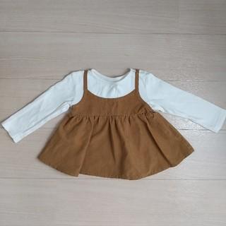ベルメゾン(ベルメゾン)の専用      80 チュニック ベルメゾン 女の子 長袖(シャツ/カットソー)