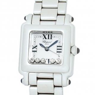 ショパール(Chopard)のショパール ハッピースポーツ スクエア ミニ(腕時計)