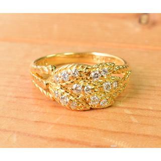 ポーラ(POLA)のK18  ポーラ ダイヤ  リング(リング(指輪))