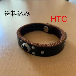 ハリウッドトレーディングカンパニー(HTC)のHTC レザーブレスレット(ブレスレット)