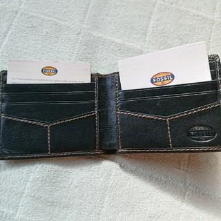 フォッシル(FOSSIL)のメンズ2つ折り財布(折り財布)