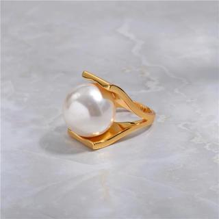 ドゥーズィエムクラス(DEUXIEME CLASSE)のbig  pearl ring(リング(指輪))