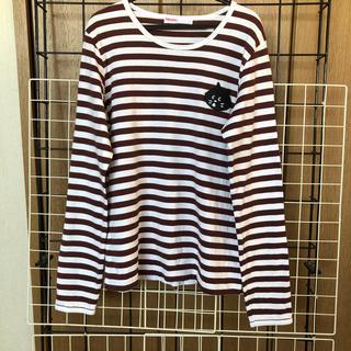 ネネット(Ne-net)のネネット にゃー ロンT 長袖Tシャツ 猫(Tシャツ(長袖/七分))