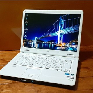 エヌイーシー(NEC)のNECノートパソコン LL550TG2J(ノートPC)