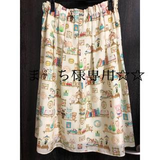 フランシュリッペ(franche lippee)のホビールームスカート フランシュリッペ 3L(ひざ丈スカート)