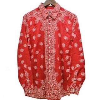 Gucci - GUCCI、ペイズリーシャツ