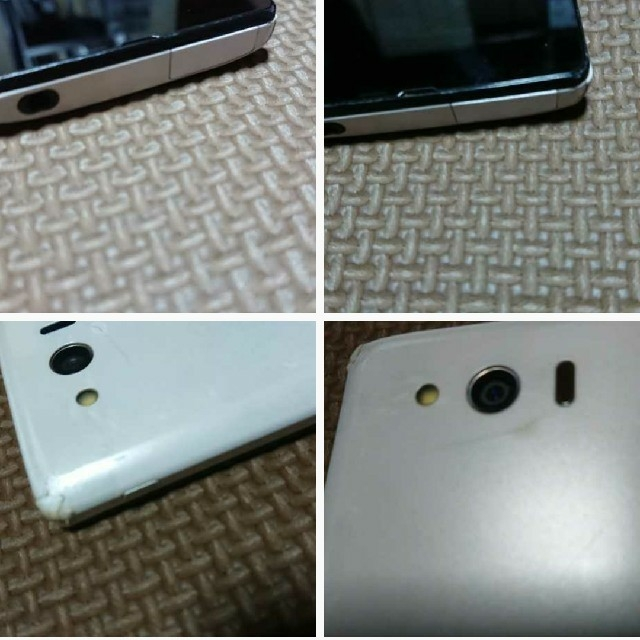 AQUOS(アクオス)の中古 ソフトバンク303SH スマホ/家電/カメラのスマートフォン/携帯電話(スマートフォン本体)の商品写真