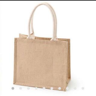 ムジルシリョウヒン(MUJI (無印良品))の新品【ジュートマイバッグ】無印良品【B5】エコバッグ トートバッグ(トートバッグ)