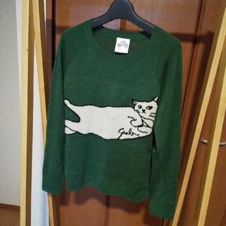 スカラー(ScoLar)のScoLar 白猫ニット(ニット/セーター)