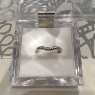 ティファニー(Tiffany & Co.)のティファニー TIFFANY&CO カーブドバンド ダイヤモンド リング 6.5(リング(指輪))