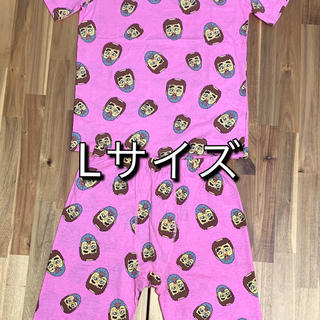 【新品】志村けん 変なおじさん ルームウェア、パジャマ Lサイズ 上下セット