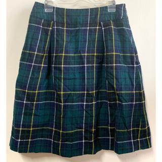 UNITED ARROWS - 美品 ユナイテッドアローズ チェック スカート  膝丈