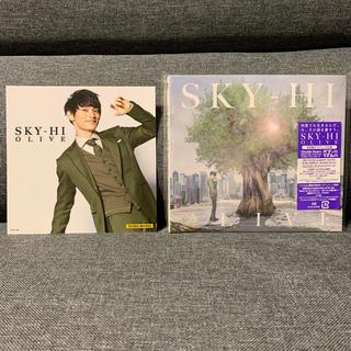 トリプルエー(AAA)のSKY-HI AAA 日高光啓 アルバム OLIVE 通常盤 初回仕様 特典付き(ポップス/ロック(邦楽))