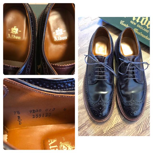 Alden(オールデン)のAlden of carmel 975ac コードバン 7.5 オールデン メンズの靴/シューズ(ドレス/ビジネス)の商品写真