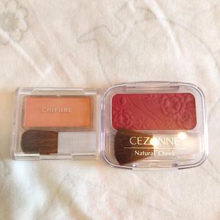 CEZANNE(セザンヌ化粧品) - ちふれ セザンヌ チーク 2個セット