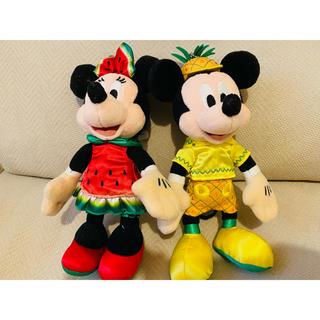ディズニー(Disney)のディズニーぬいぐるみバッジ(キャラクターグッズ)