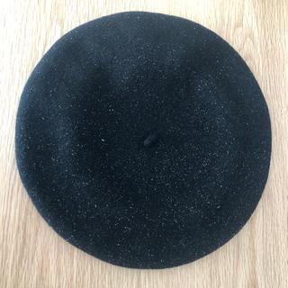 agnes b. - agnesb アニエスベー ベレー帽 帽子 ラメ入り キッズ