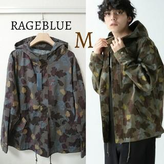 RAGEBLUE - 今季 新品 レイジブルー ミリタリージャケット ブルゾン マウンテンパーカー