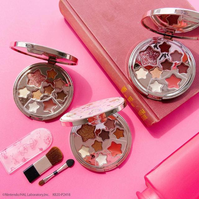 ITS'DEMO(イッツデモ)の星のカービィ×ITS'DEMO オリジナル マルチパレット ピンク コスメ/美容のキット/セット(コフレ/メイクアップセット)の商品写真