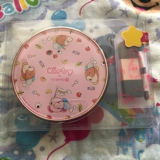 星のカービィ×ITS'DEMO オリジナル マルチパレット ピンク