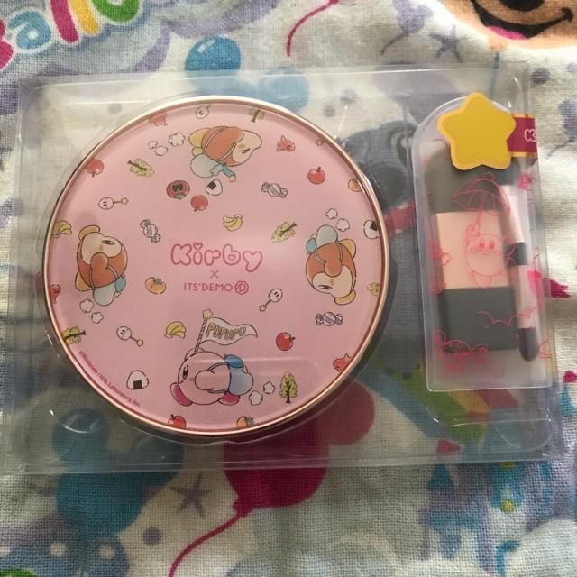 ITS'DEMO(イッツデモ)の星のカービィ×ITS'DEMO オリジナルマルチパレット ピンク コスメ/美容のキット/セット(コフレ/メイクアップセット)の商品写真