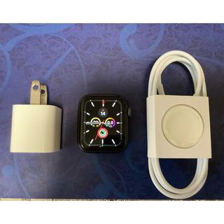 アップルウォッチ(Apple Watch)のApple Watch 4 GPS 40mm アルミニウム <ジャンク>(その他)