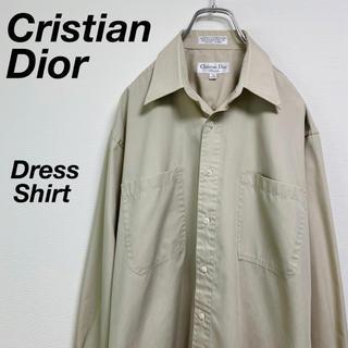 Christian Dior - 希少 古着 90's クリスチャン ディオール ドレスシャツ ビッグシャツ 15