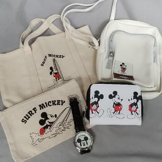 ミッキーマウス(ミッキーマウス)のミッキーマウス  ミニショルダーバッグ他 雑誌付録セット(トートバッグ)