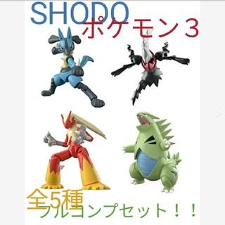 ポケモン - 【掌動】shodoポケモン3 全5種フルコンプセット!