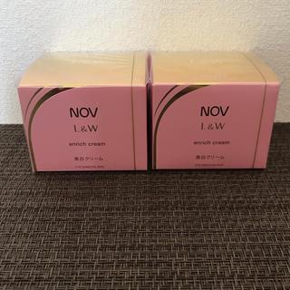ノブ(NOV)のNOV L&W エンリッチクリーム 48g 2個セット(フェイスクリーム)